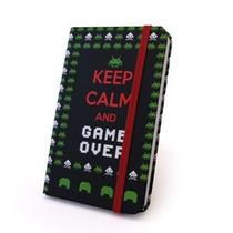 Caderneta Caderno Anotações Rascunho Jogo Space Invaders
