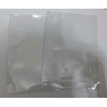 Capa Plástica Para Caderno Brochurao 96 Transparente C /50