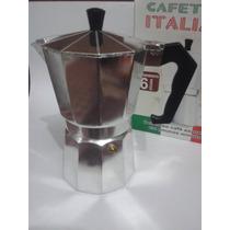 Cafeteira Italiana 6 Doses Em Alumínio Polido - Café Cozinha