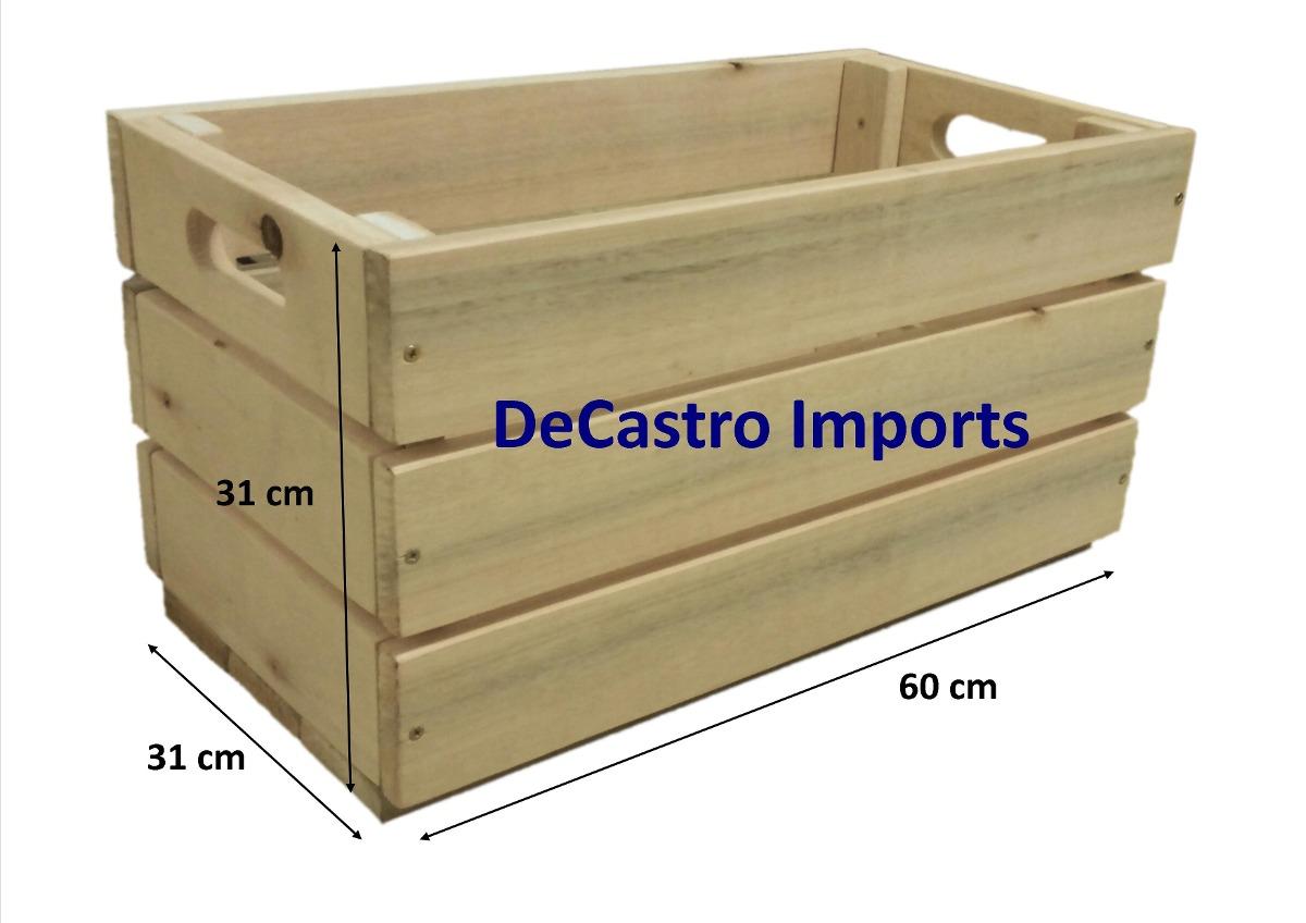 Caixa Caixote De Feira Novo Madeira Ecológica Decoração R$ 59  #171478 1200x848