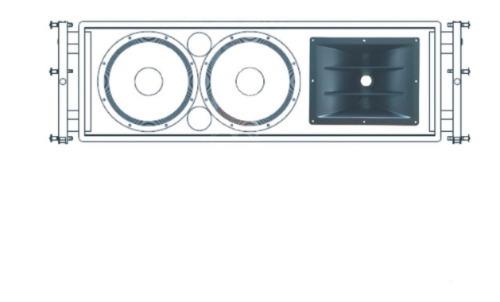 Caixa Para Line Array - Compre Sistema Line Array 2x12
