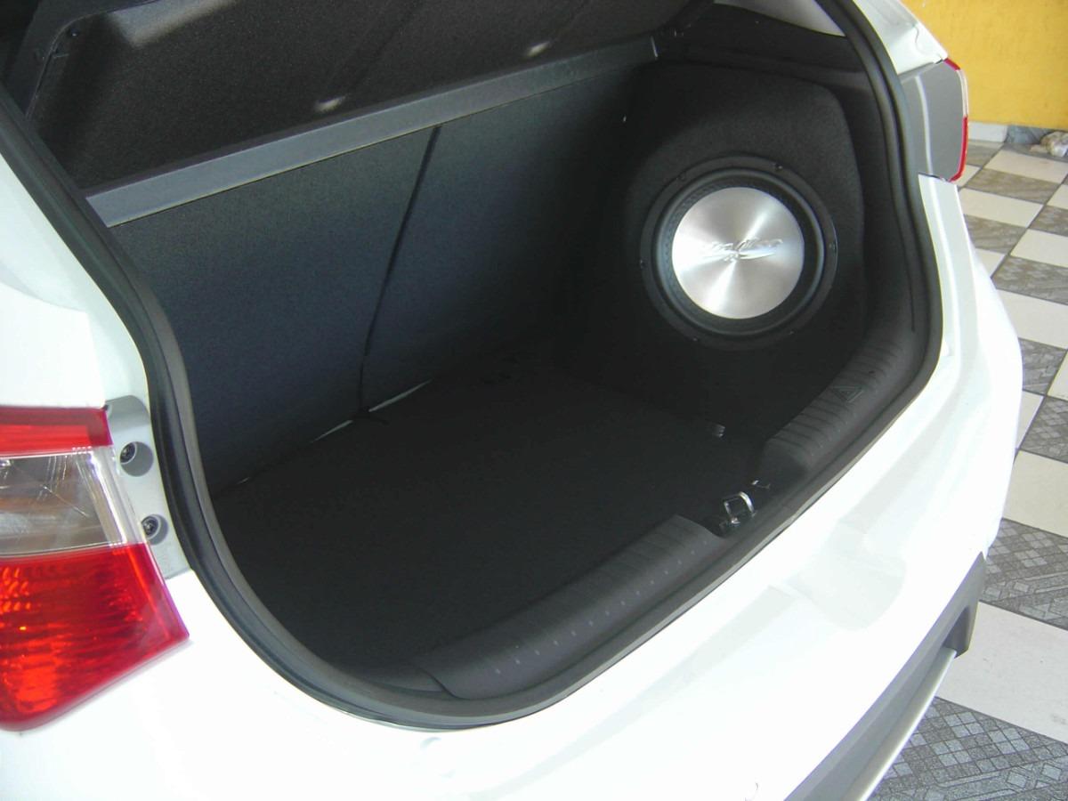 Caixa Selada S10 Cabine Dupla Flat Slin Com Subwoofer Bravox 10  #A92226 1200x900