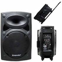 Ecopower Ep-1291 350w Rms Falante, 2 Microfones, Sem Fio