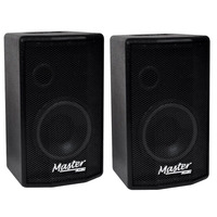 Kit Caixa Ativa + Passiva Af 8 85 Watts Rms W8-100 Master