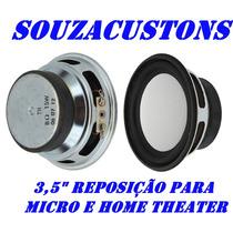 Alto Falante 3 1/2 15 W Home Theater Micro Sistem
