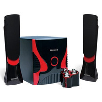 Caixa De Som 2.1 Tv Pc Subwoofer 80w Rms - R$ 249,90