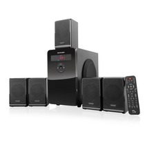 Home Theater 5.1 Multilaser 120 Watts C/ Usb Sd Card E Fm