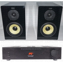 Kit Stereo Aat - Pm1-v (amp) + Bookshelf Bsf-100 Ct