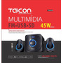 Sist Multim Taicon 2.1,45w,bluetooth,fm,sd,usb,cont Rem,biv