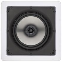 Caixa Som Loud Gesso Embutir Home Theater Quadrada 6 100w