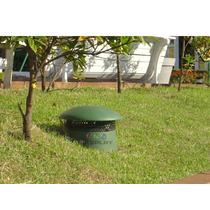 Caixa Acústica Jardim Cogumelo Som Ambiente 80watts Rms