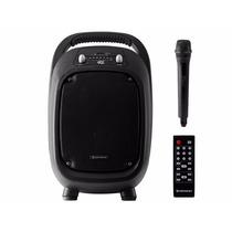 Caixa De Som Portátil 100w Bluetooth/microsd/usb/fm Go!100