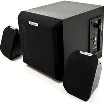 Caixa De Som Edifier - X100b - 2.1 - 15w Rms - C/ Subwoofer