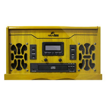 Vitrola Radio Gravadora Disco Vinil Am Fm Cd Aux Cassete Usb