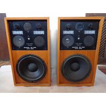 Par Caixa Som Quasar 500 12 90w Amplificador Akai Gradiente