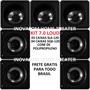 Kit Cx Loud 5.0 Embutir No Gesso - 03 Sl6-120w + 04 Sq6-120w