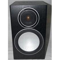 Caixa Bookshelf Monitor Audio Silver 1 - Preto Fosco - Par -