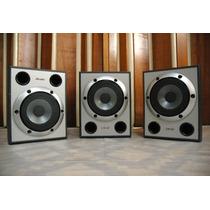 Vendo Cj 03 Caixas Sony Muteki Cor Prata - 185w