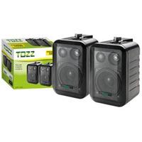 Caixa Acústica Som Ambiente 75 Watts Tozz (par) Tcza302