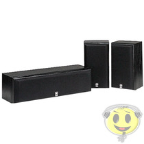 Kit Caixas Home Theater Yamaha Ns-p60 Bl Surround - Kadu Som