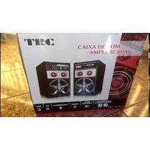Caixa De Som Acustica Amplificada Trc 348