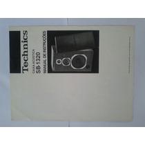 Manual Original Caixas Téchnics Sl 13.20