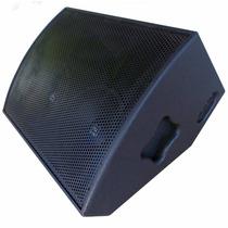 Caixa Acústica Som Monitor Retorno Palco 400 Rms - Passiva