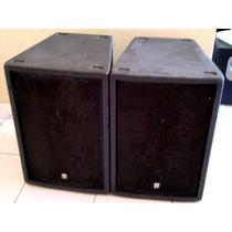 2 Caixas Staner Original 500t Conector Speakon Suporte Tripé