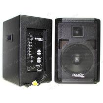 Kit Caixa Ativa + Passiva Af12 400 Watts Rms W12-250 Master