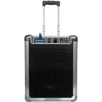 K2 Audio Kp8 Caixa Ativa C/ Bateria Sd Mp3 Queima Estoque