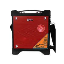 Caixa De Som Amplificada Portátil 40w Rms Lenoxx Ca301