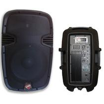 Caixa Som Ativa 15 340w Rms Bluetooth Pen Drive