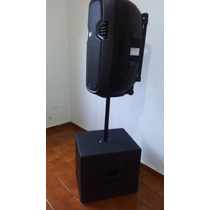 Kit Prof.caixa Ativa 15 Poleg+sub-woofer Passivo 1300wats