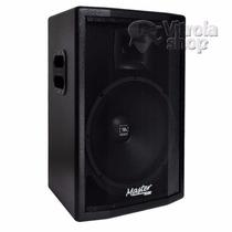 Caixa Ativa Master Audio 300w W15-300 Garantia E Nota