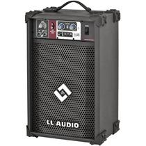 Caixa Ll Audio Amplificada Multiso Ll 100 Fm Rádio