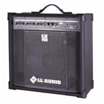Caixa Amplificada Multiuso Lx100 Fm - Com Radio Fm E Usb