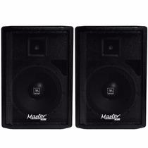 Kit Caixa Ativa + Passiva Master Audio Falante 15 Jbl 480w