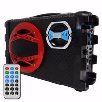 Caixa De Som Amplificada Bluetooth Usb - Bh2012 Atac 3 Uni