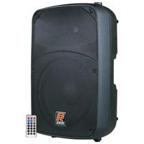 Caixa De Som Ativa Staner 12 200w Sr 212a Bluetooth Sd Usb