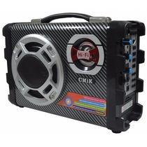 Micro System Caixa De Som Amplificada Rca Mp3 Usb Mais Forte