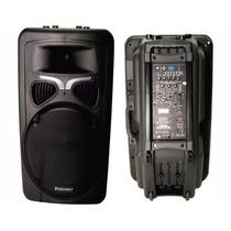 Caixa De Som 500w Rms Bateria Interna 15 Eps306 Ecopower