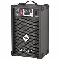Caixa Amplificada Ll Ll 100 Usb Cubo Guitarra Violão Mic 25w