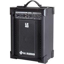 Caixa Som Mutiuso Lx 40 Usb Controle Cubo Guitarra Violão Pc