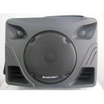 Caixa De Som Amplificada Ecopower Ep-1297 8 250 Rms