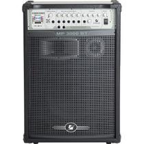Caixa De Som Frahm Mp3000 Bt 300 Watts Usb Fm Bluetooth