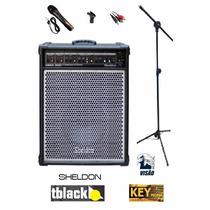 Mini Kit De Som Igreja = Caixa Max300 + Microfone + Aces!