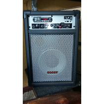 Caixa Multiuso Iron 400 60w Rms Bluetooth Usb/sd E Rádio Fm
