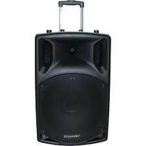 Caixa De Som Ecopower Ep-s202 12 350w 2 Microfones
