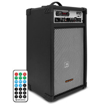 Caixa Amplificada Multi-uso 100w Rms Bluetooth Usb Controle