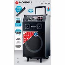 Caixa Amplificadora Mondial Cm-01 Connect Pro Ii 140w Rms